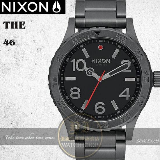 NIXON實體店The46潮流人士必敗時尚錶款A916-632公司貨禮物極限運動
