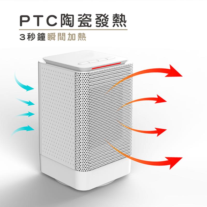 【迷你陶瓷電暖器】暖風機 電暖器 取暖器 電暖爐 暖風扇 升溫器 保暖器 速熱電暖爐【AB177】 4