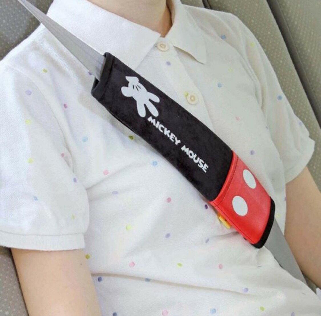 米奇安全帶護套 車用安全帶套 安全帶保護套 安全帶防勒套 安全帶套【YH009】