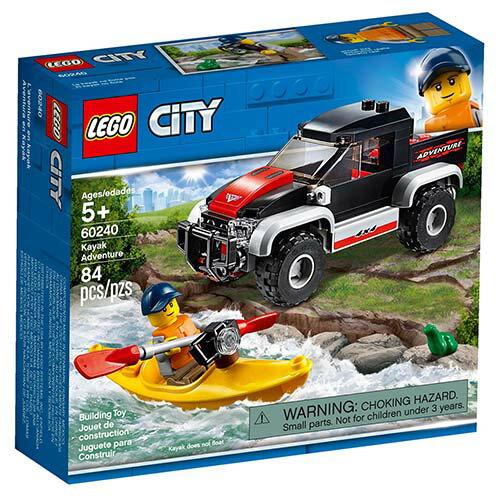 樂高LEGO 60240  City-Great Vehicles 城市系列 - 獨木舟探險 - 限時優惠好康折扣