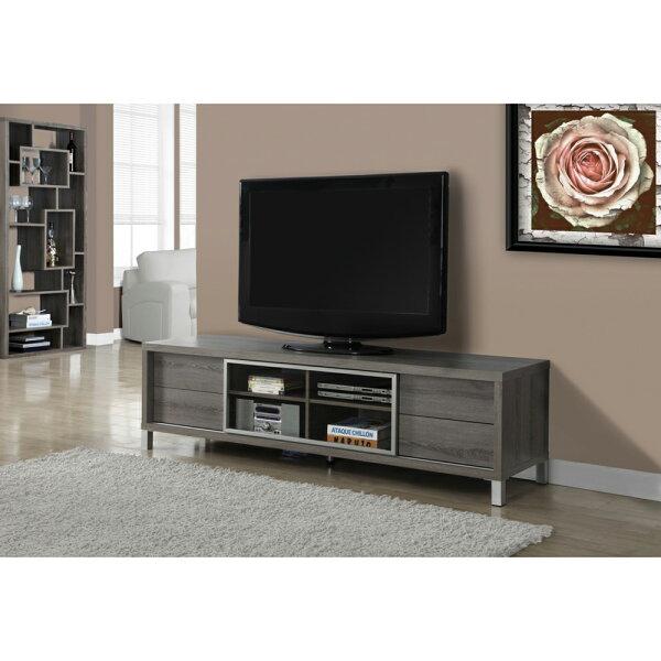 簡單樂活:雅博德6尺鋁框玻璃電視櫃-DIY組合產品