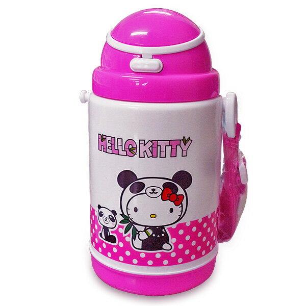 【Hello Kitty】彈跳式保冷水壺 400ml