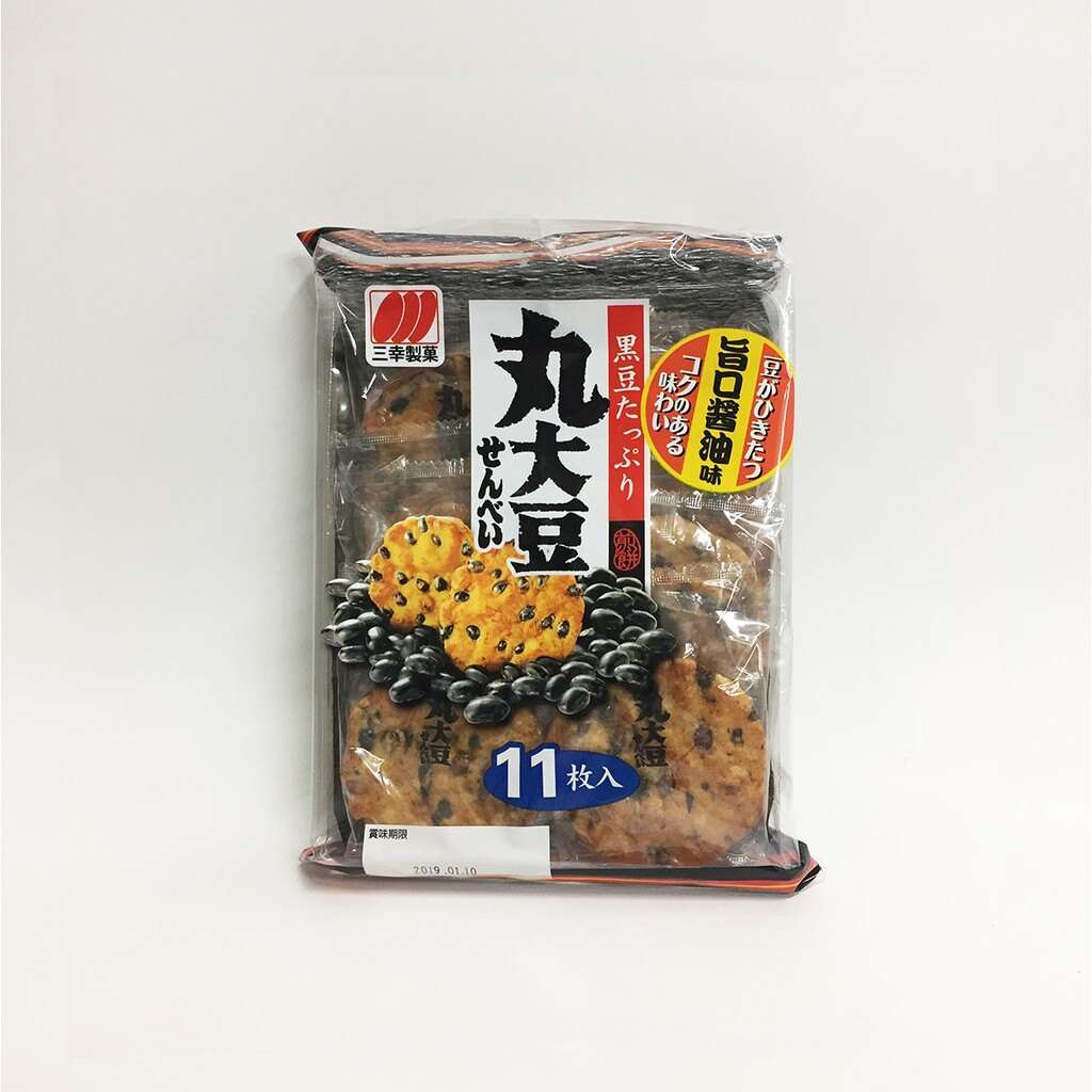 三幸製菓 丸大豆米果 11片入