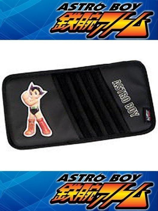 權世界~汽車用品 原子小金剛 雷射3D限定版 遮陽版套夾 置物袋 AB~07003