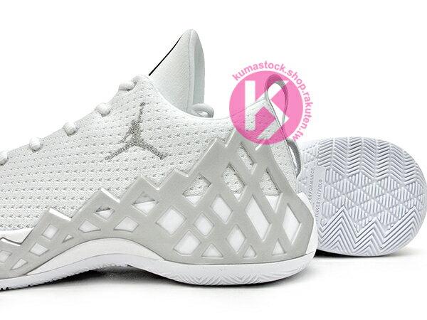 [27.5cm] 2019 中價位鞋款 廣告強力主打 Tinker Hatfield 設計 NIKE JUMPMAN DIAMOND LOW PF 低筒 白銀 前掌 ZOOM AIR 籃球鞋 AJ (CI1209-100) ! 3