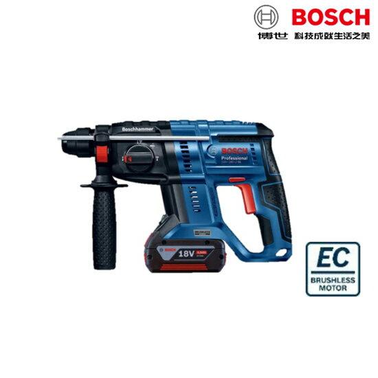 BOSCH博世 最新改款 慶祝快閃活動 GBH 180-LI 2焦耳18V鋰電免碳刷四溝免出力鎚鑽 無刷電鑽