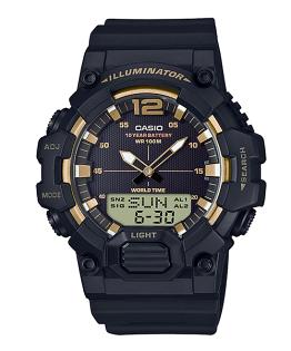 CASIO卡西歐HDC-700-9A長效電池數字指針經典雙顯腕錶
