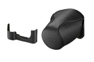 SONY 專為 α7 / α7R / α7S 而設計的真皮軟質相機套 LCS-ELCC 適用於:SEL1635Z、SEL2470Z、SEL2870 鏡頭 A7 / A7R / A7S