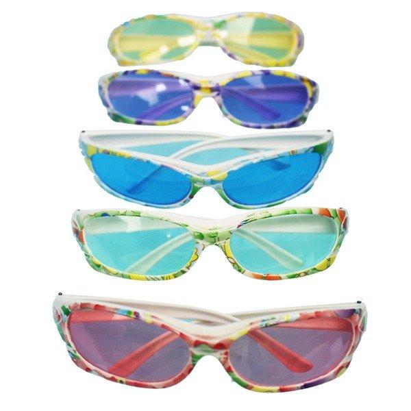 兒童眼鏡 派對眼鏡 花形裝飾眼鏡 / 一支入(定15) 表演眼鏡 太陽眼鏡童玩-YF12707 2