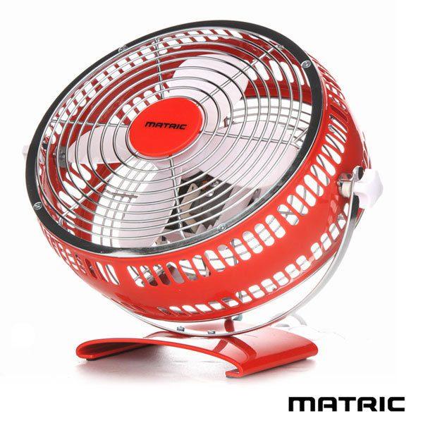 【滿3千,15%點數回饋(1%=1元)】日本松木 MATRIC Magic 魔幻紅 8吋金屬扇 MG-AF0801D 純銅線馬達 桌扇/循環扇 分期零利率