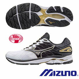[ALPHA] MIZUNO WAVE RIDER 20 J1GC170414 男鞋 跑鞋 超寬楦 CLOUD WAVE