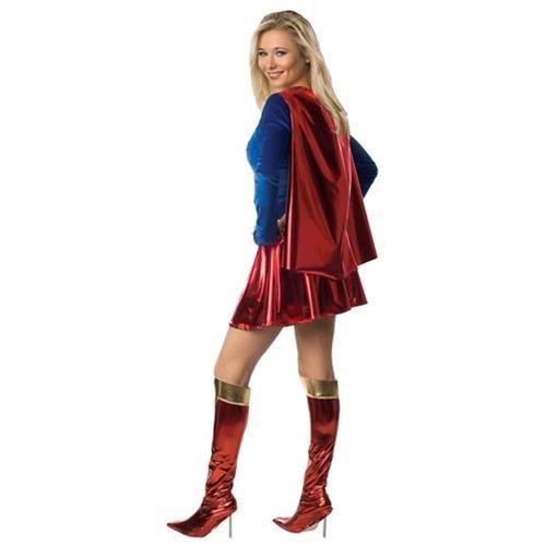 Supergirl Deluxe 1-Piece Adult 2