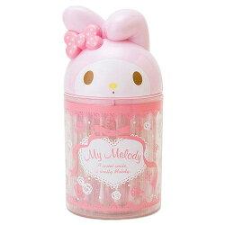 日本代購預購 三麗鷗 美樂蒂 造型棉花棒盒+棉花棒(60入) 單支包裝 723-150