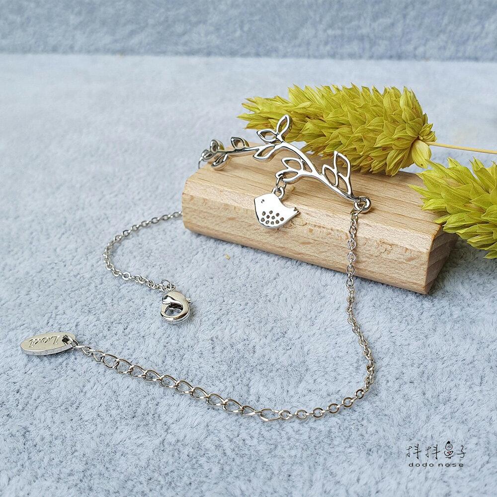 韓國手鍊 甜美幸福小圓鳥 手鍊
