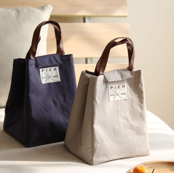 時尚日式保溫便當袋5手提便當包飯盒袋保溫袋