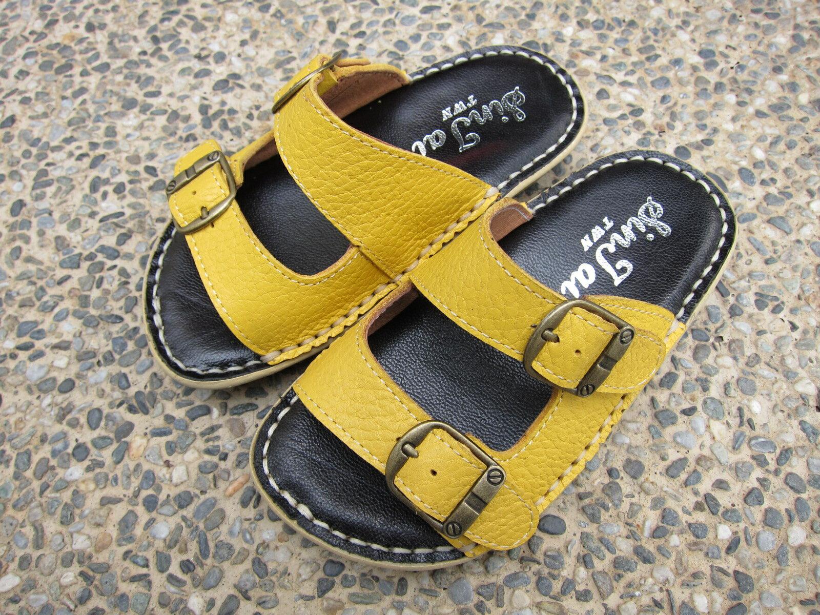 牛皮真皮手工鞋兒童拖鞋