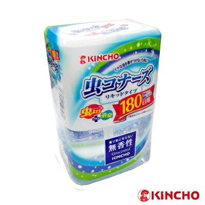 【日本金鳥】液體防蟲180天(芳香消臭+驅蟲二合一)/無香性400ml
