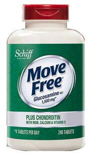 MoveFree葡萄糖胺+軟骨素+MSM+維生素D+鈣錠240錠◆德瑞健康家◆