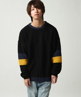 針織衫BLACK×INDIGO