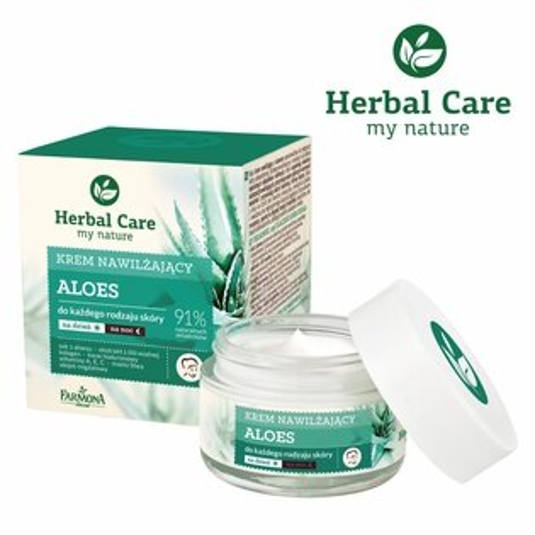 meko美妝生活百貨:【HerbalCare】蘆薈臉部保濕柔潤霜