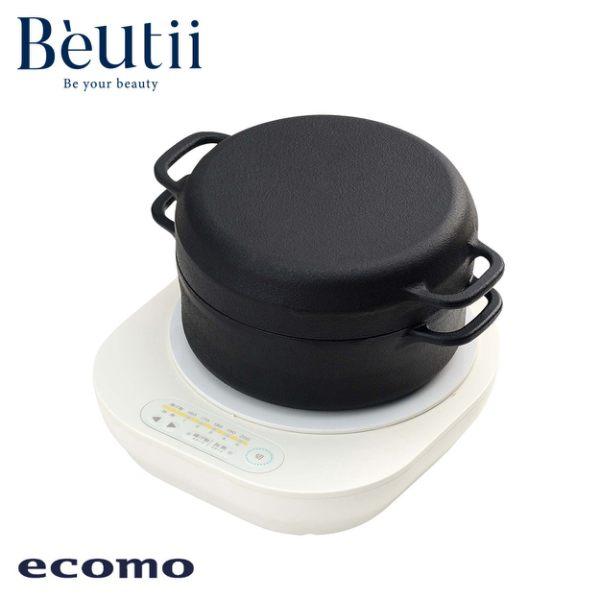 ECOMO IH電磁爐 x 南部鐵器萬用鍋組 日本 公司貨 保固一年