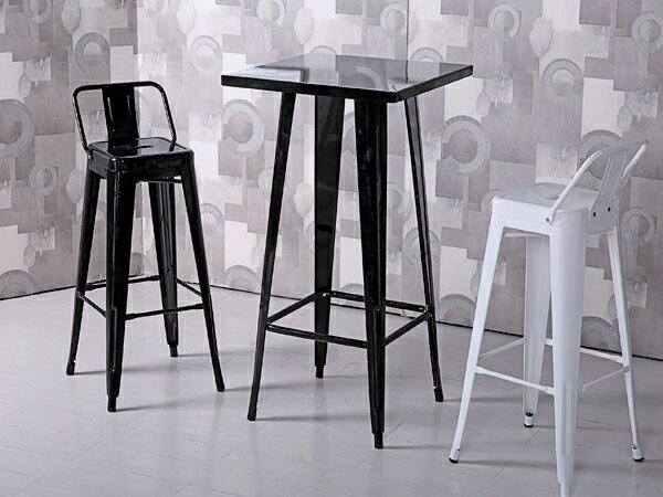 餐椅【YUDA】哈利 白色 加背 高吧檯椅 餐椅/休閒椅/書桌椅 J8F 489-8