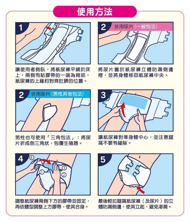 來復易 極緻防漏呵護紙尿褲 M / L / XL*8包入 (箱購)【德芳保健藥妝】 8
