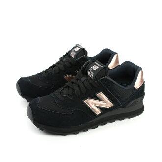 NEW BALANCE Classic 574系列 復古鞋 黑色 女鞋 no153