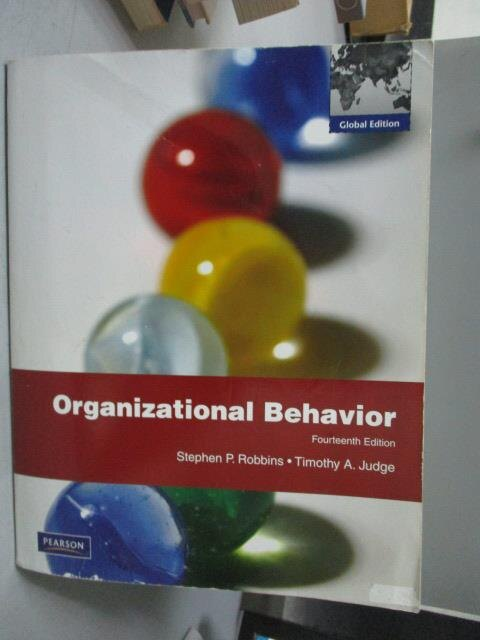 ~書寶 書T5/大學商學_YGQ~Organizational Behavior_14 e