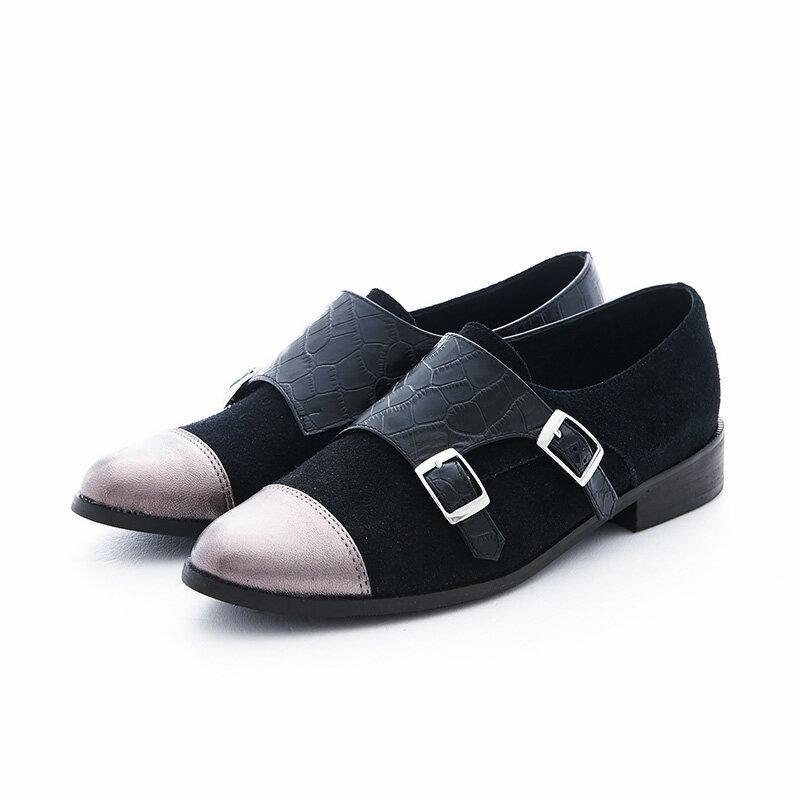 【P2-16712L】個性拼接孟克鞋_Shoes Party 6