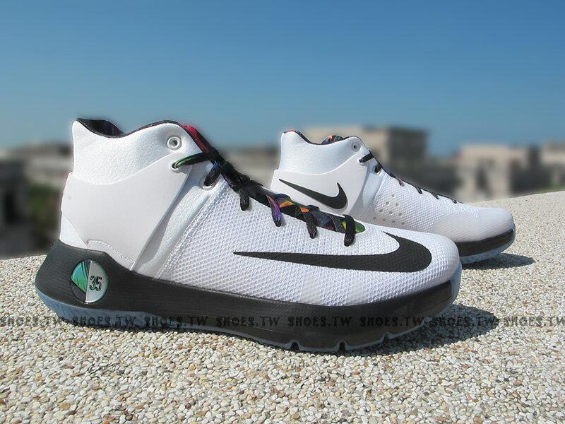 [27.5cm]《5折出清》Shoestw【844573-194】NIKE KD TREY 5 IV EP 籃球鞋 白黑色 彩帶 XDR