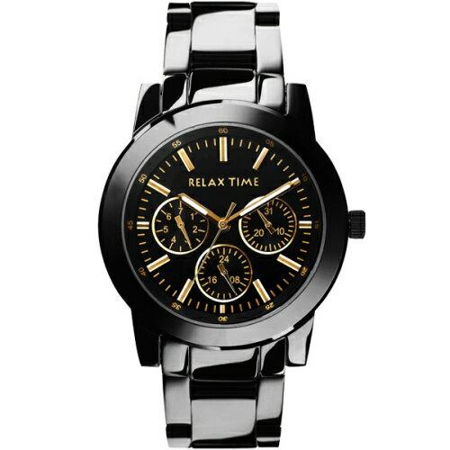 RELAXTIME酷炫三眼耀腕錶R0800-16-21X大