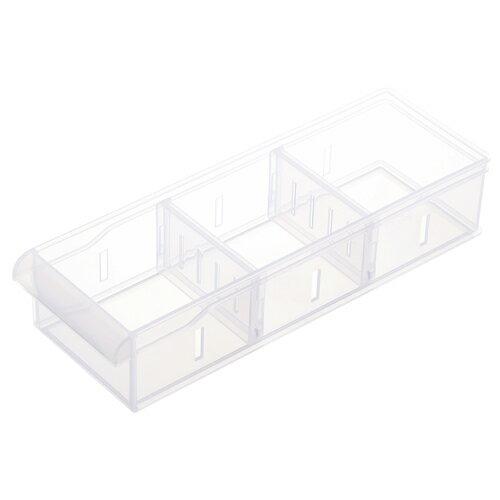 Fine隔板整理盒-0.95L【愛買】