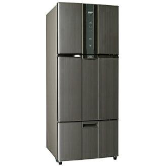 【聲寶SAMPO】580公升一級變頻三門冰箱。石墨銀/SR-N58DV(K2)