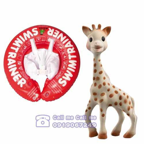 ★衛立兒生活館★德國Freds兒童學習泳圈(0-4歲)+蘇菲長頸鹿