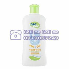 ★衛立兒生活館★Nac Nac寶貝可愛牛奶燕麥沐浴乳【400ml】