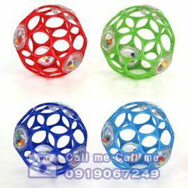 ★衛立兒生活館★Oball 魔力洞動球-4吋沙沙洞動球 #81031