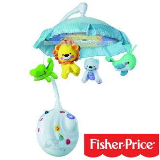 Fisher Price費雪 可愛動物世界音樂吊鈴