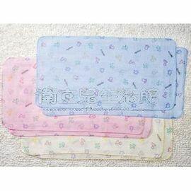 ~衛立兒 館~~ Aprica~幸福印花紗布澡巾 水藍 白 粉紅
