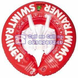 ★衛立兒生活館★德國SWIMTRAINER ClassicFreds兒童學習游泳圈 0-4歲 (8-18kg)【紅色】贈打氣筒1支(隨機出貨)