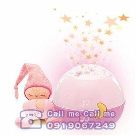Chicco 舒眠星星投射夜燈  粉紅~衛立兒 館~