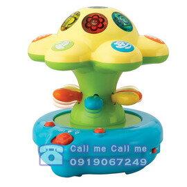 ★衛立兒生活館★HAP-P-KID 小小學習家玩具 花朵小夜燈 0