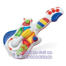 ★衛立兒生活館★HAP-P-KID 小小學習家玩具搖滾吉他