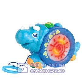 ★衛立兒生活館★HAP-P-KID 小小學習家玩具犀牛拉拉 0