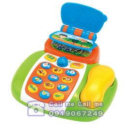 ★衛立兒生活館★HAP-P-KID 小小學習家玩具第一部電話