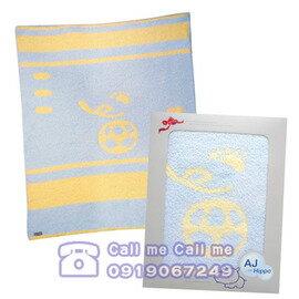 ★衛立兒生活館★AJ-hippo小河馬暖暖毯組禮盒