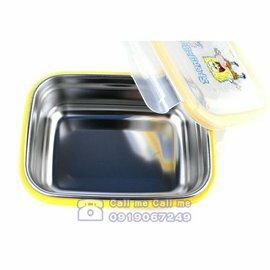 ★衛立兒生活館★海綿寶寶餐具韓製進口不鏽鋼精品 餐盒