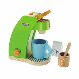 ★衛立兒生活館★德國【Hape愛傑卡】角色扮演廚房系列咖啡製作機