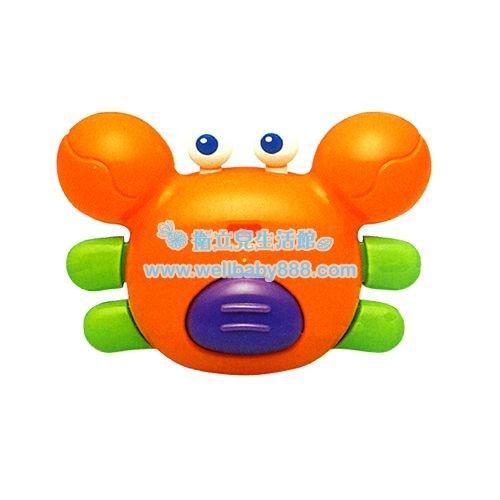 ★衛立兒生活館★Toyroyal 樂雅 洗澡玩具-螃蟹 TF7172
