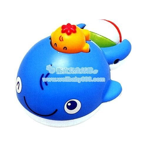 ★衛立兒生活館★Toyroyal 樂雅 洗澡玩具-鯨魚 TF7175